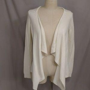 Anthropologie Moth Cream Sweater Lightweight Cardi